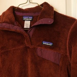 Patagonia Snap T Fleece Red Pullover